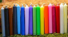 فروش ویژه انواع شمع رنگی